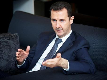 Президент Сирии Башар Асад. Фото: Reuters