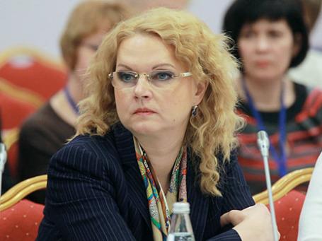 Помощник президента РФ Татьяна Голикова. Фото: РИА Новости