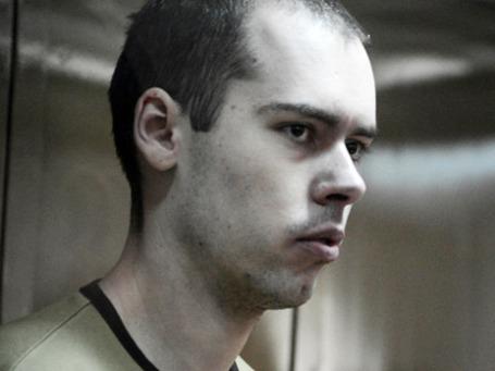 Юрист компании «Ригла» Дмитрий Виноградов, обвиняемый в убийстве шестерых человек, приговорен к пожизненному лишению свободы. Фото: РИА Новости