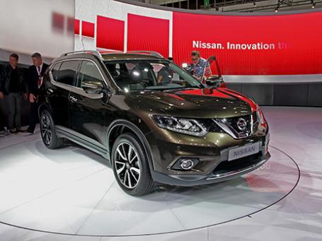 Nissan X-trail. Фото: Алексей Аксенов/BFM.ru