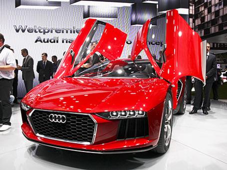 Audi Nanuk Quattro concept. Фото: Алексей Аксенов/BFM.ru