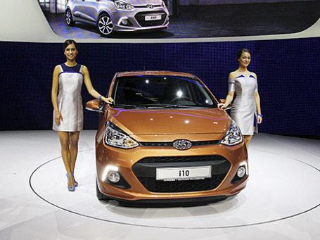 Hyundai i10. Фото: Алексей Аксенов/BFM.ru