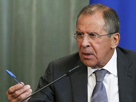 Глава МИД России Сергей Лавров. Фото: Reuters