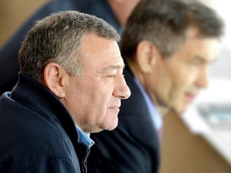 Президент ХК «Динамо» Аркадий Ротенберг. Фото: РИА Новости