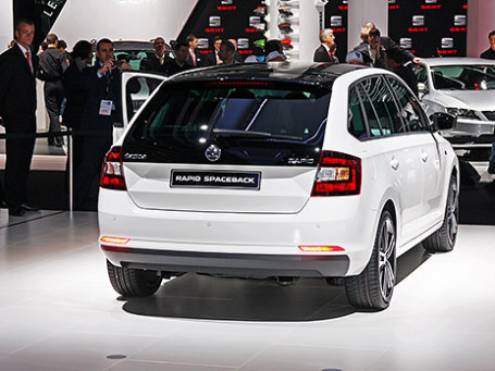Skoda Rapid Spaceback. Фото: Алексей Аксенов/BFM.ru