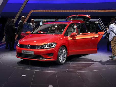Volkswagen Golf Sportsvan. Фото: Алексей Аксенов/BFM.ru