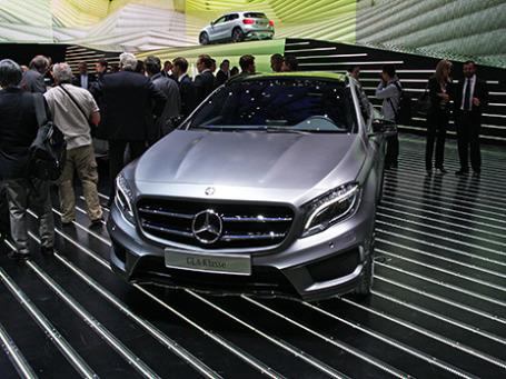 Mercedes-Benz GLA. Фото: Алексей Аксенов/BFM.ru