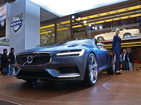 Volvo Coupe Concept. Фото: Алексей Аксенов/BFM.ru