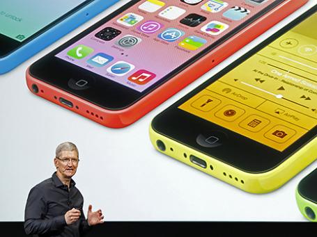 Генеральный директор Apple Тим Кук. Фото: Reuters