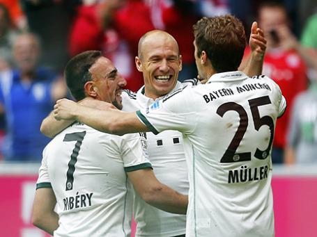 Игроки ФК «Бавария Мюнхен». Фото: Reuters