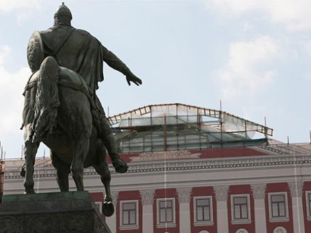 Фасад здания мэрии. Фото: ИТАР-ТАСС