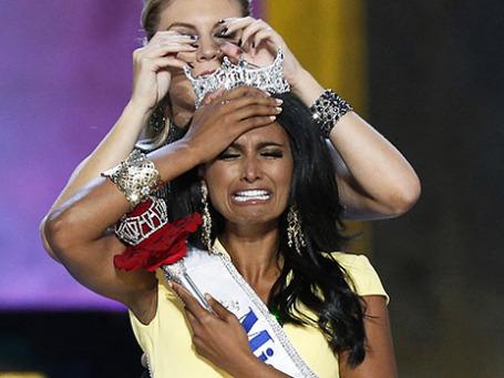 Победительница конкурса «Мисс Америка-2014» Нина Давулури. Фото: Reuters