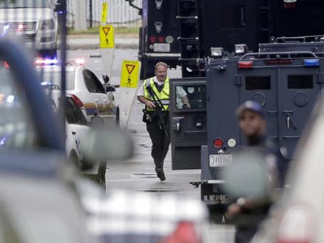 Полиция на месте происшествия. Фото: Reuters