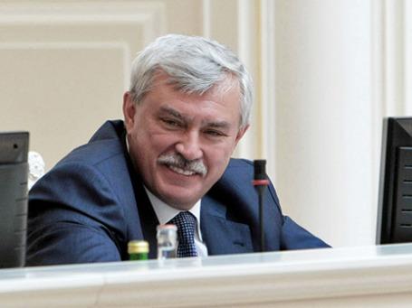 Губернатор Санкт-Петербурга Георгий Полтавченко. Фото: РИА Новости
