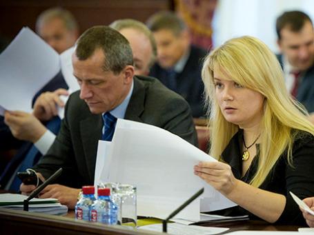 Андрей Шаронов и Наталья Сергунина. Фото: mos.ru