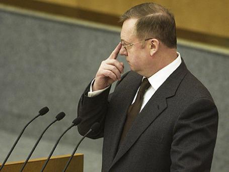 Председатель Счетной палаты РФ Сергей Степашин. Фото: ИТАР-ТАСС