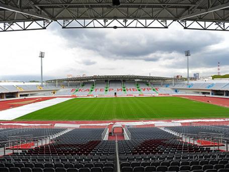 Благоустройство стадиона «Локомотив» завершится к сентябрю