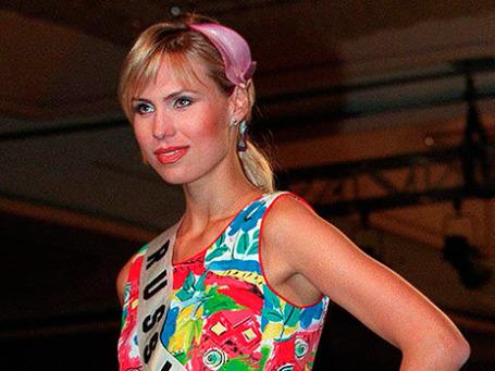 «Мисс Россия-1998» Анна Малова. 3 мая 1998 г. Фото: Reuters