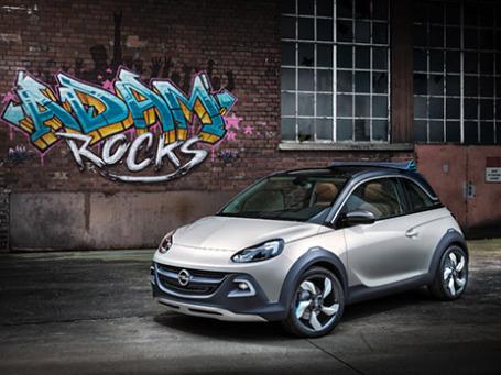 Opel Adam Rocks  Concept. Фото: opel.com