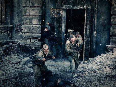 Кадр из фильма «Сталинград». Фото предоставлено кинокомпанией WDSSPR