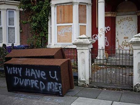 Заброшенный дом в Ливерпуле. Фото: Reuters