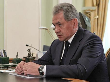 Министр обороны РФ Сергей Шойгу. Фото: РИА Новости