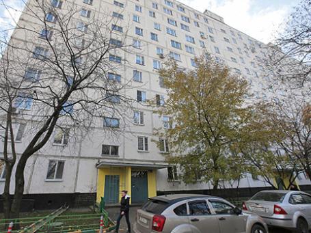 Дом, где предположительно проживал подозреваемый в убийстве 25-летнего москвича Егора Щербакова Орхан Зейналов. Фото: РИА Новости