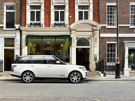 Range Rover L. Фото предоставлено пресс-службой компании