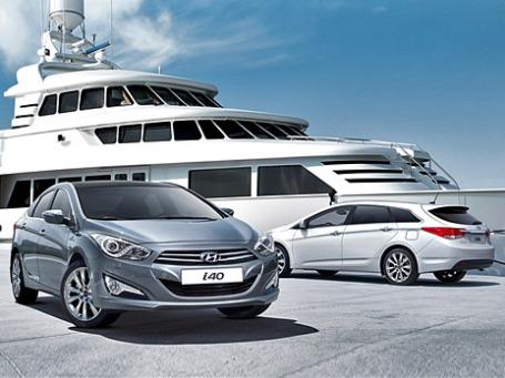 Hyundai i40 Advance. Фото предоставлено пресс-службой Hyundai