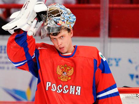 Хоккеист Семен Варламов. Фото: РИА Новости