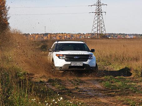 Ford Explorer Sport. Фото: Алексей Аксенов/BFM.ru