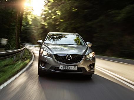 Mazda CX-5. Фото предоставлено пресс-службой
