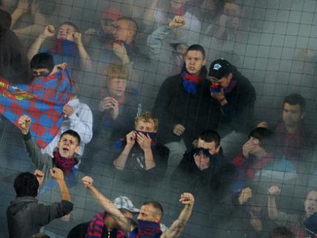 Болельщики ЦСКА. Фото: РИА Новости