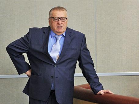 Руководитель фракции ЛДПР Владимир Жириновский. Фото: РИА Новости