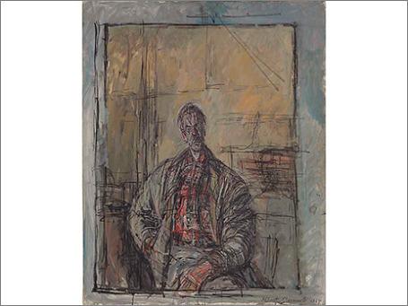 «Диего в клетчатой рубашке» Альберто Джакометти. Фото: christies.com
