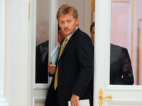 Пресс-секретарь президента РФ Дмитрий Песков. Фото: ИТАР-ТАСС