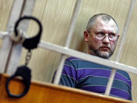 Михаил Глущенко в Куйбышевском районном суде города Санкт-Петербурга 1-го марта 2012 года. Фото: РИА Новости