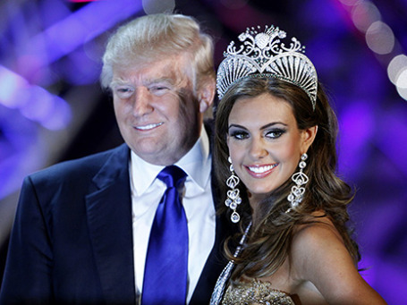 Дональд Трамп и Мисс Америка 2013. Фото: Reuters