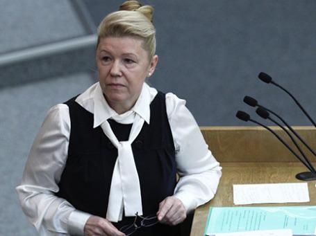 Председатель комитета ГД по вопросам семьи, женщин и детей Елена Мизулина. Фото: РИА Новости