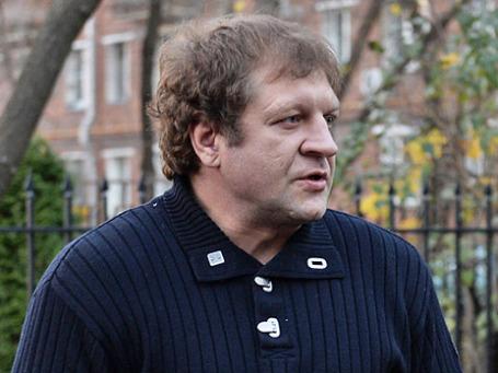 Боец смешанного стиля Александр Емельяненко. Фото: РИА Новости