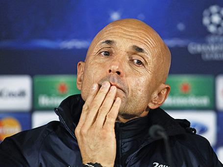 Тренер санкт-петербургского футбольного клуба «Зенит» Лучано Спалетти. Фото:Reuters
