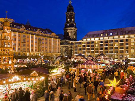 Рождественская ярмарка в Дрездене. Фото предоставлено пресс-службой Momondo.
