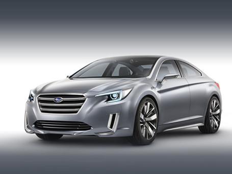 Subaru Legasy. Фото предоставлено пресс-службой.