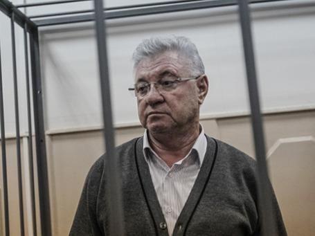 Мэр Астрахани Михаил Столяров в Басманном суде Москвы. Фото: РИА Новости