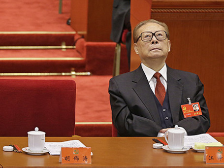 Бывший глава Китая Цзян Цзэминь. Фото: Reuters