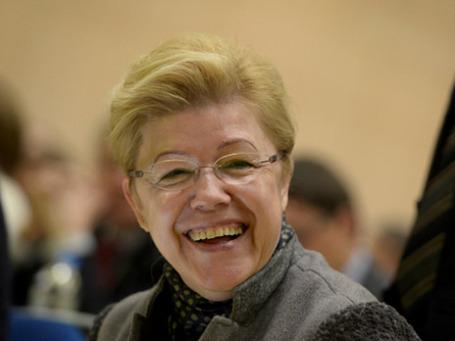 Глава комитета нижней палаты по вопросам семьи, женщин и детей Елена Мизулина. Фото: РИА Новости