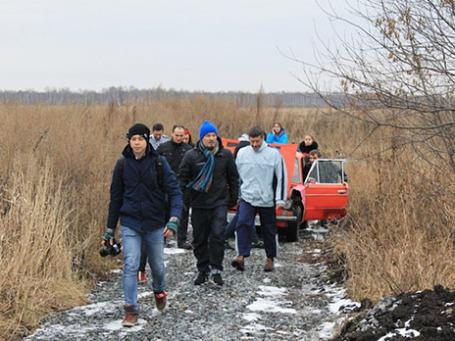 Группа «Limp Bizkit» в селе Криводановка.  Фото: metronews.ru