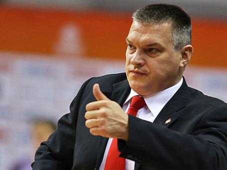 Главный тренер мужской сборной России по баскетболу Евгений Пашутин. Фото: РИА Новости