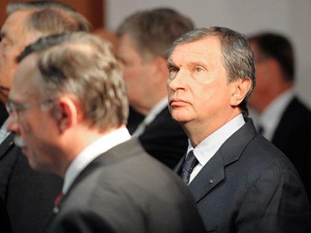 Президент ОАО «Роснефть» Игорь Сечин. Фото: РИА Новости