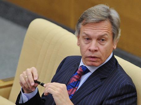 Председатель комитета Государственной Думы РФ по международным делам Алексей Пушков. Фото: РИА Новости